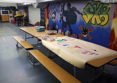 Basement Colouring and Tables