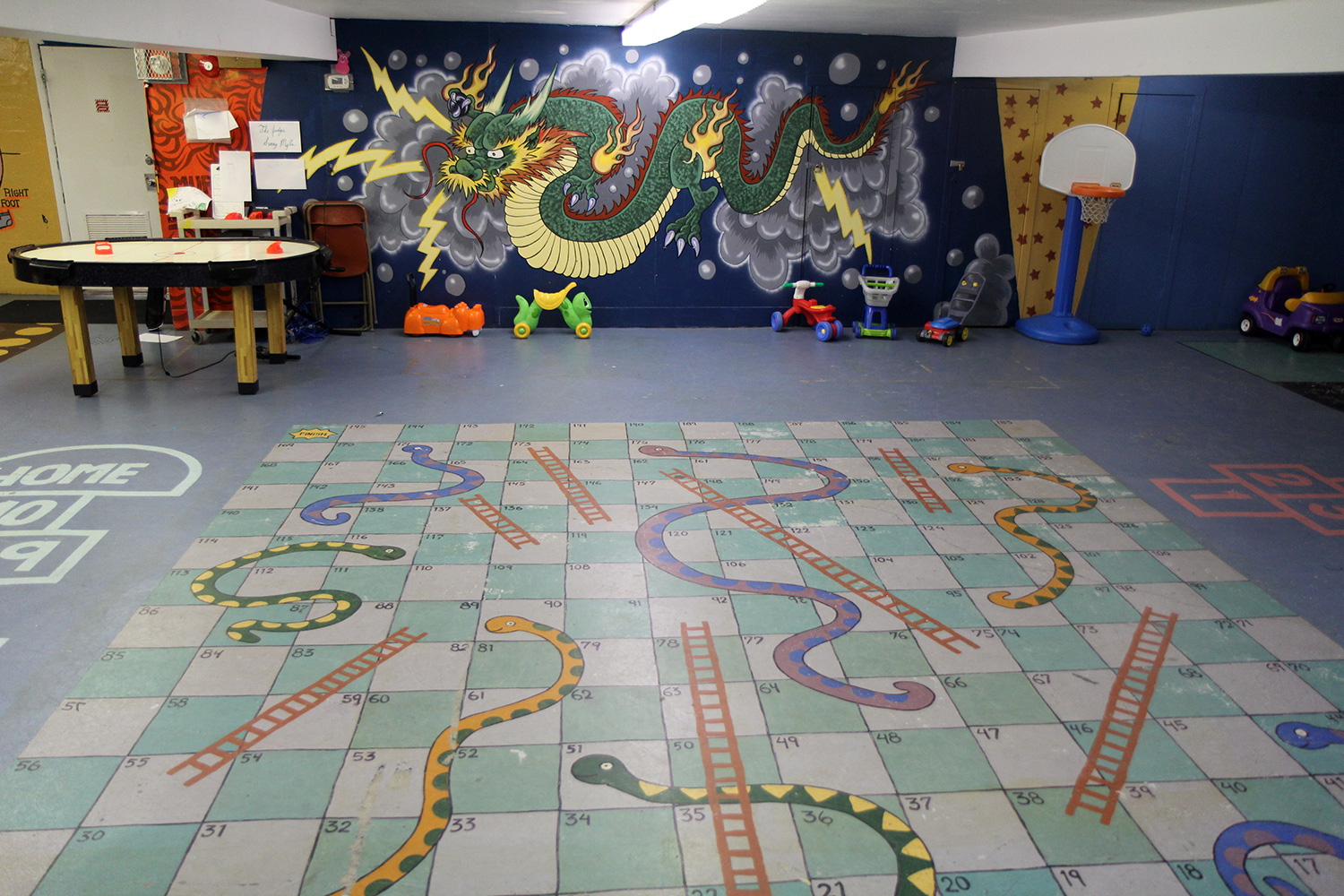 Basement Snakes and Ladders