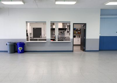 Empty Hall and Canteen
