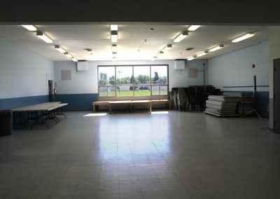 Empty Hall and Window Stage