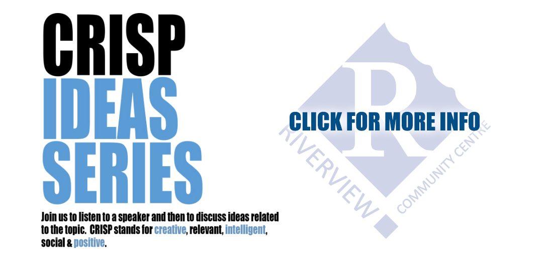 CRISP Speaker Series