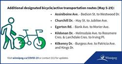Churchill Drive to Become Active Transportation Route