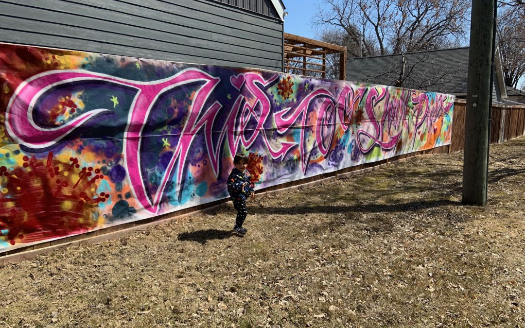 Mural of Hope Pops Up in Riverview