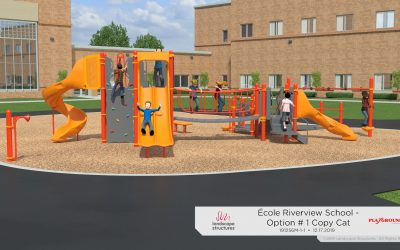 École Riverview School Fundraising for New Structure