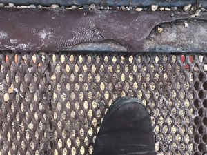 damaged platform