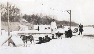 Dog sled River Park 1923