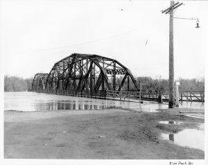bdi bridge 1950s flood
