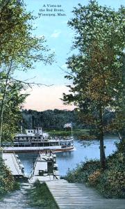 pontoon bridge and ferry