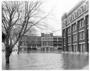 hospitals 1950s flood