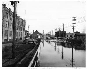 osborne subway flood 1950s