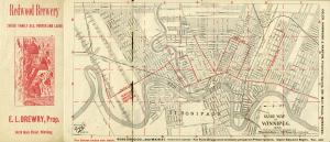 1895 winnipeg riverview map half built