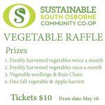 SOCC vegetable raffle
