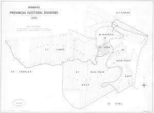 Winnipeg Provincial Electoral Divisions 1870