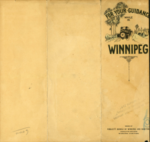 illustrated map 1935 cover