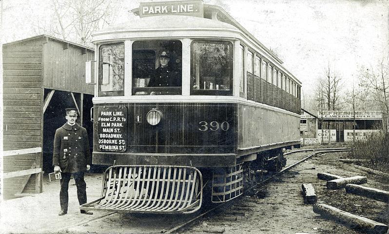 park line