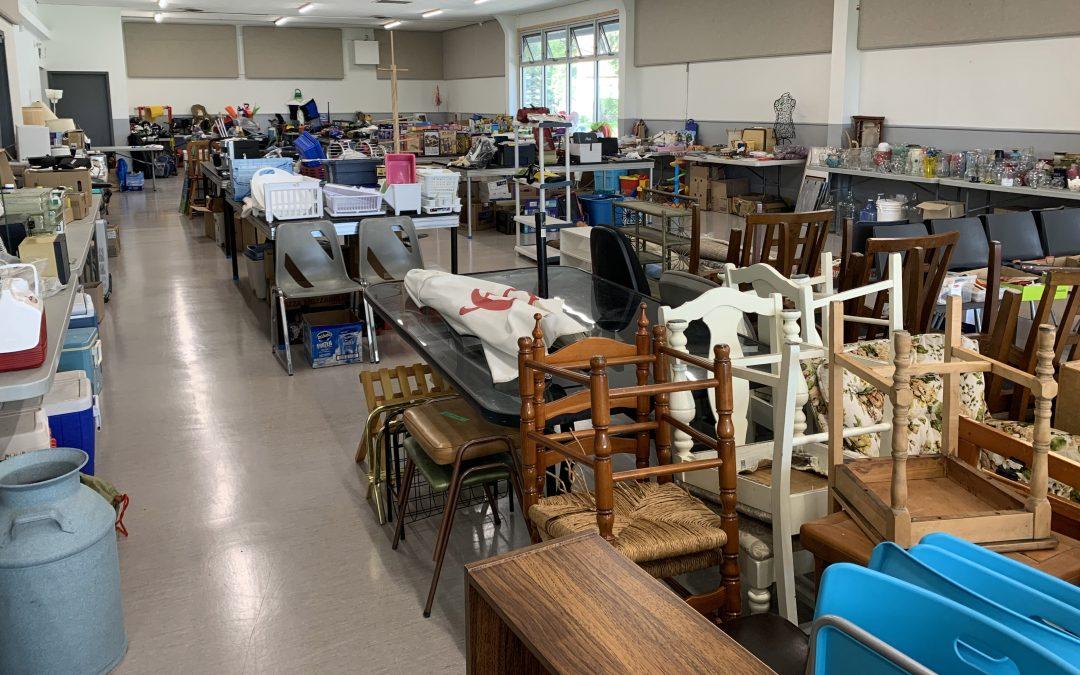 Garage Sale Brings Community Together