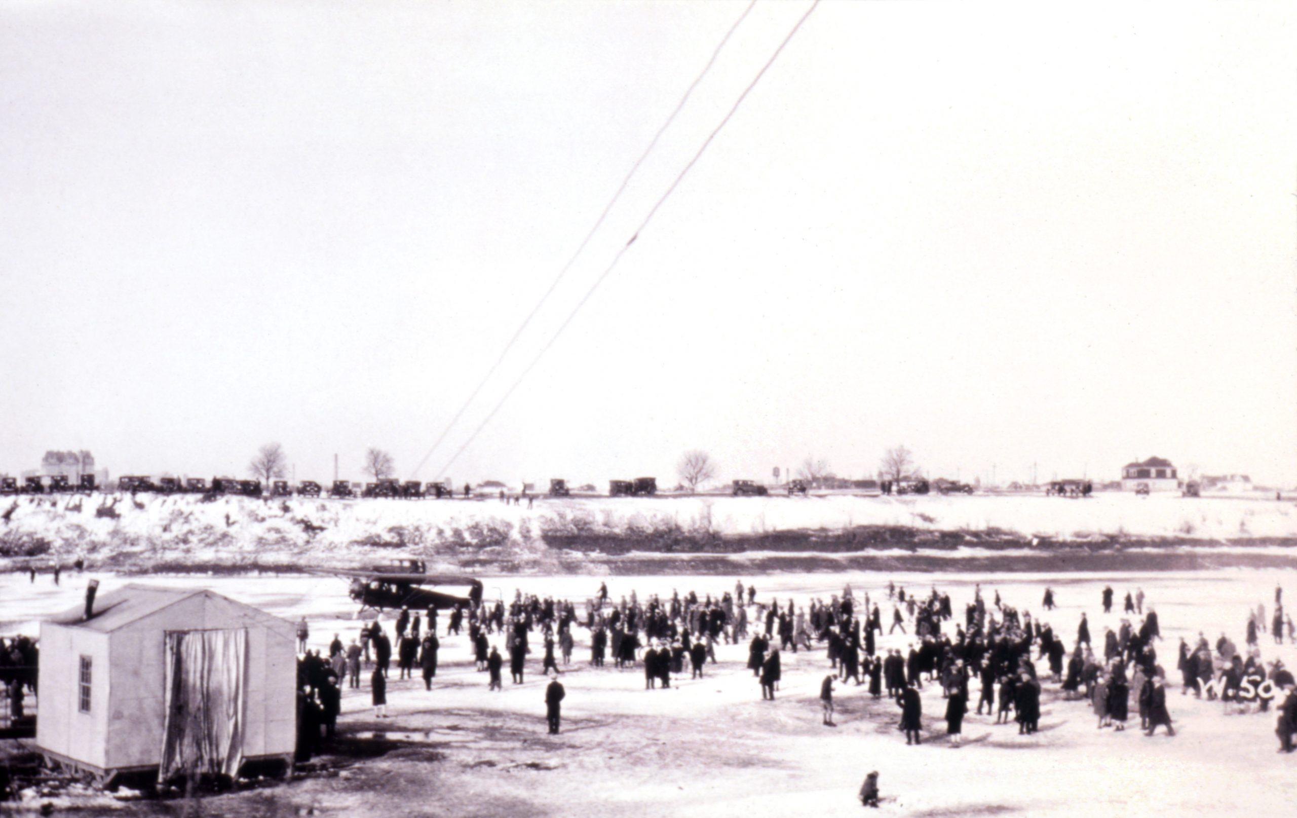 Brandon Avenue Floatplane base winter