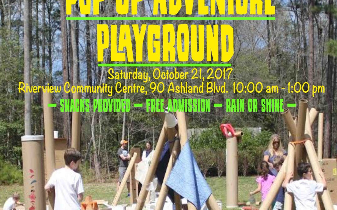 Pop Up Adventure Playground